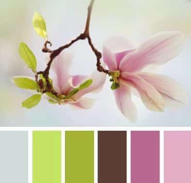 La paleta de colores para tu boda