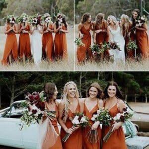 Plaleta de colores para una boda